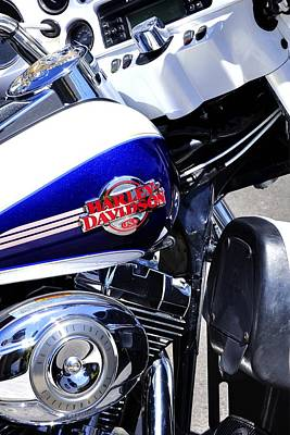 Jerry Sodorff Royalty-Free and Rights-Managed Images - Harley Davidson 25560 by Jerry Sodorff