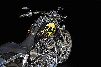 Harley Davidson 4 Studio Art Print