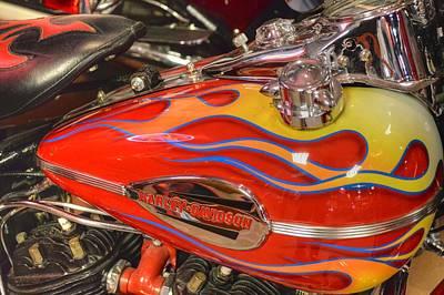 Photograph - Harley-davidson  by Bill Hamilton