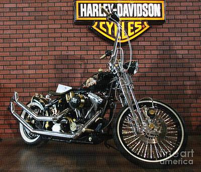 Photograph - Harley Davidson by Daliana Pacuraru