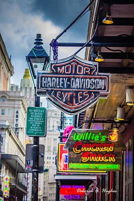 Photograph - Harley-davidson by Deborah Hughes