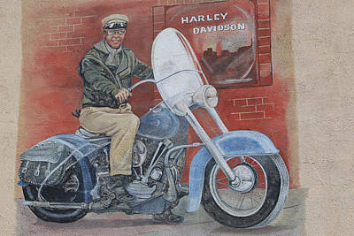 Photograph - Harley Davidson by Donna Kennedy