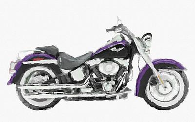 Harley Davidson Flstn Softail Original