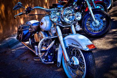 Harley Davidson Photograph - Harley Davidson - Heritage Softail by David Patterson