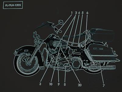 Photograph - Harley Davidson Iv by Diane montana Jansson