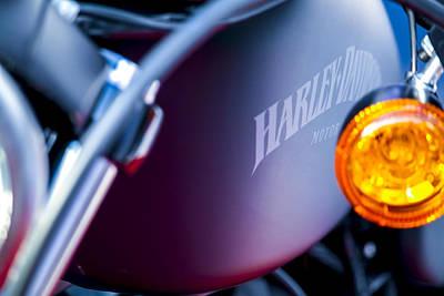 883 Photograph - Harley Davidson by Jijo George