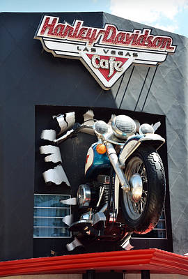 Custom Ring Photograph - Harley Davidson Las Vegas by RicardMN Photography