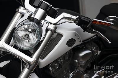 Photograph - Harley Davidson Paris by John Rizzuto