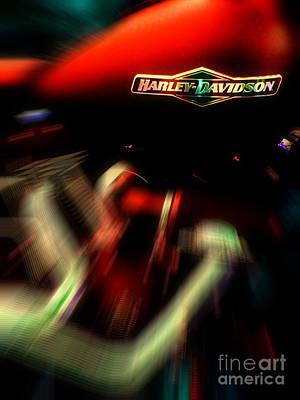 Photograph - Harley Davidson Ride by Scott B Bennett