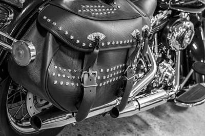Photograph - Harley Davidson Saddlebag  by John McGraw