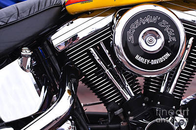 Photograph - Harley Davidson Screaming Eagle by Glenn Gordon