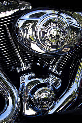 Photograph - Harley Davidson Series 02 by Carlos Diaz