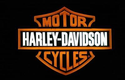 Photograph - Harley-davidson by Steven Parker
