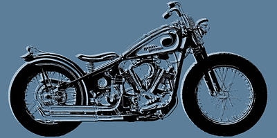 Harley-davidson Original by Tony Rubino