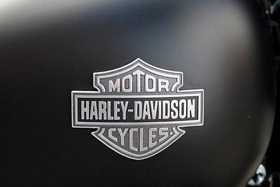 Photograph - Harley Davidson by Trent Mallett
