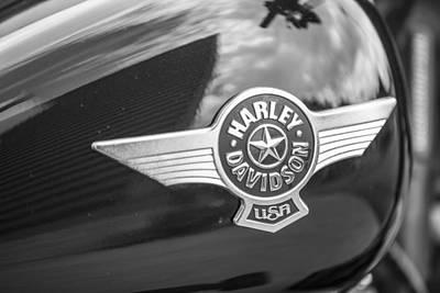 Photograph - Harley Davidson Usa Tank by John McGraw