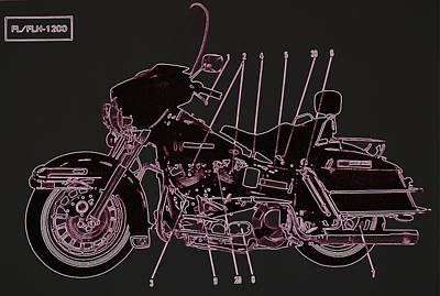 Photograph - Harley Davidson Vi by Diane montana Jansson