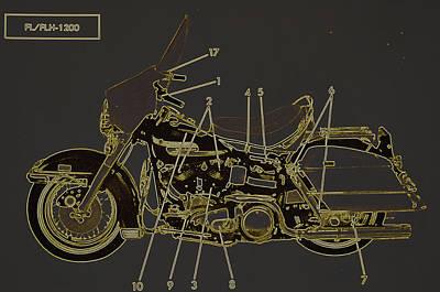 Photograph - Harley Davidson X by Diane montana Jansson