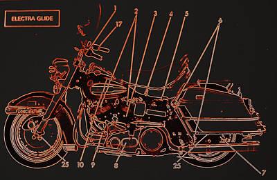 Photograph - Harley Davidson Xi by Diane montana Jansson