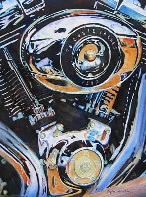 Harley Heaven Art Print