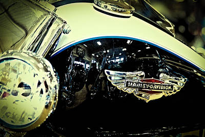 Cycle Photograph - Harley Hog II by David Patterson