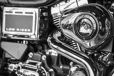 Photograph - Harley Low Rider by John McGraw