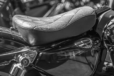 Photograph - Harley Seat by John McGraw