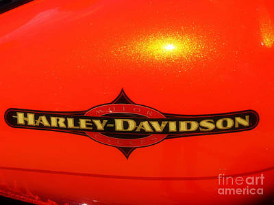 Photograph - Harley Shine by Scott B Bennett