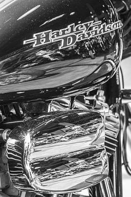 Photograph - Harley Side Engine by John McGraw