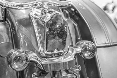 Photograph - Harley Taillights  by John McGraw