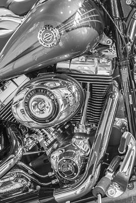 Photograph - Harley Tank And 96 Cubic Engine  by John McGraw