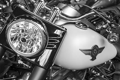 Photograph - Harley Tank And Light by John McGraw
