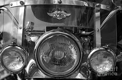 Photograph - Harley Triple by Graham Hawcroft pixsellpix