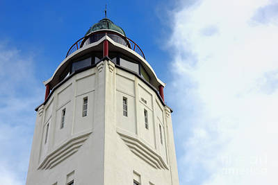 Lighthouse Photograph - Harlingen Lighthouse by Jan Brons