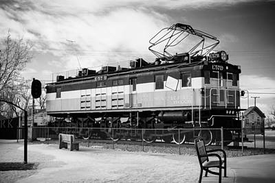 Harlo Train Print by Paul Bartoszek