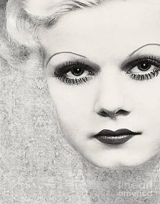 Harlow #5 Art Print by Maureen Tillman