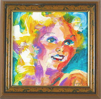 Harlow Painting - Harlow by Les Leffingwell