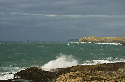 Harlyn Bay In North Cornwall Art Print
