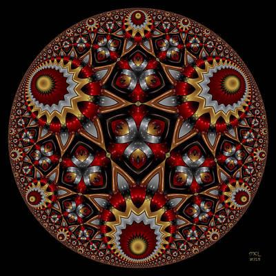 Digital Art - Harmonia by Manny Lorenzo