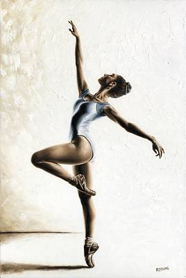 Pointe Painting - Harmony And Light by Richard Young
