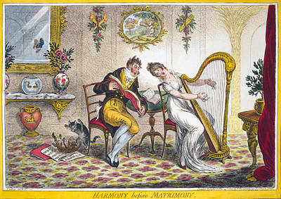 Harmony Before Matrimony. A Young Woman Art Print