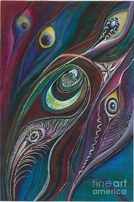 On Cavas Painting - 'harmony' by Diljeet Kaur-Matharu