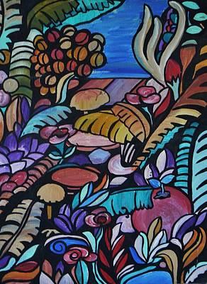 Painting - Harmony Garden by Barbara St Jean