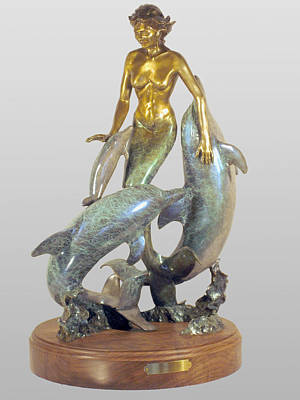 Sculpture - Harmony by Hugh Blanding