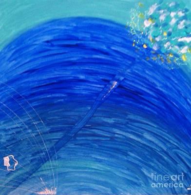 Art Print featuring the painting Harmony by Ilona Svetluska