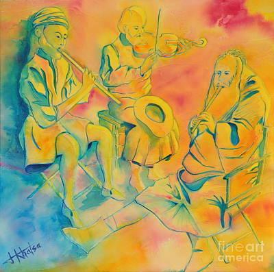 Painting - Harmony by Jaswant Khalsa