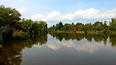 Photograph - Harmony On The Boyne River by Debbie Oppermann