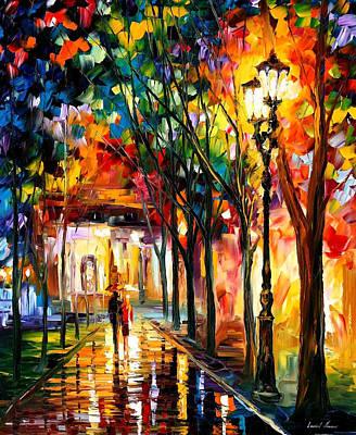 Harmony - Palette Knife Oil Painting On Canvas By Leonid Afremov Original