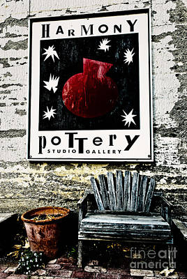 Art Print featuring the photograph Harmony Pottery by Terry Garvin