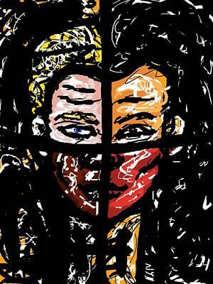 Digital Art - Harmony by Rachel Scott